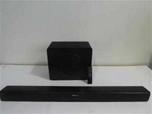 Klipsch RSB-11 Sound Bar & Wireless Subw