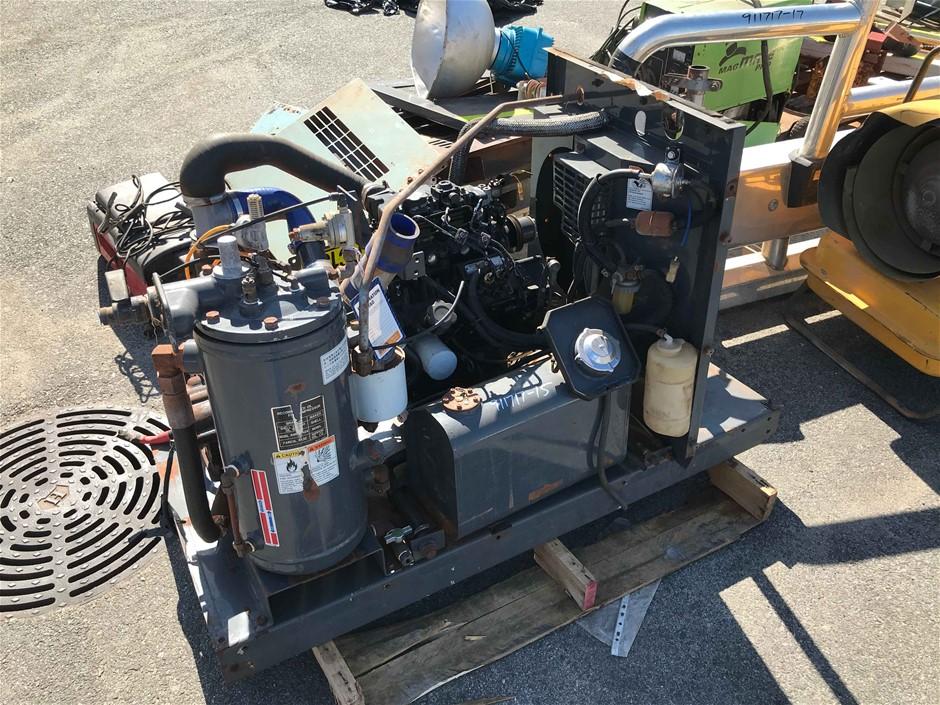 2 Cylinder Diesel Compressor