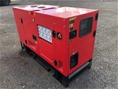 Unused 25kVA Diesel Generator - Melbourne