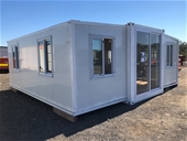 2021 Unused 20ft Fold Out Container House - Toowoomba