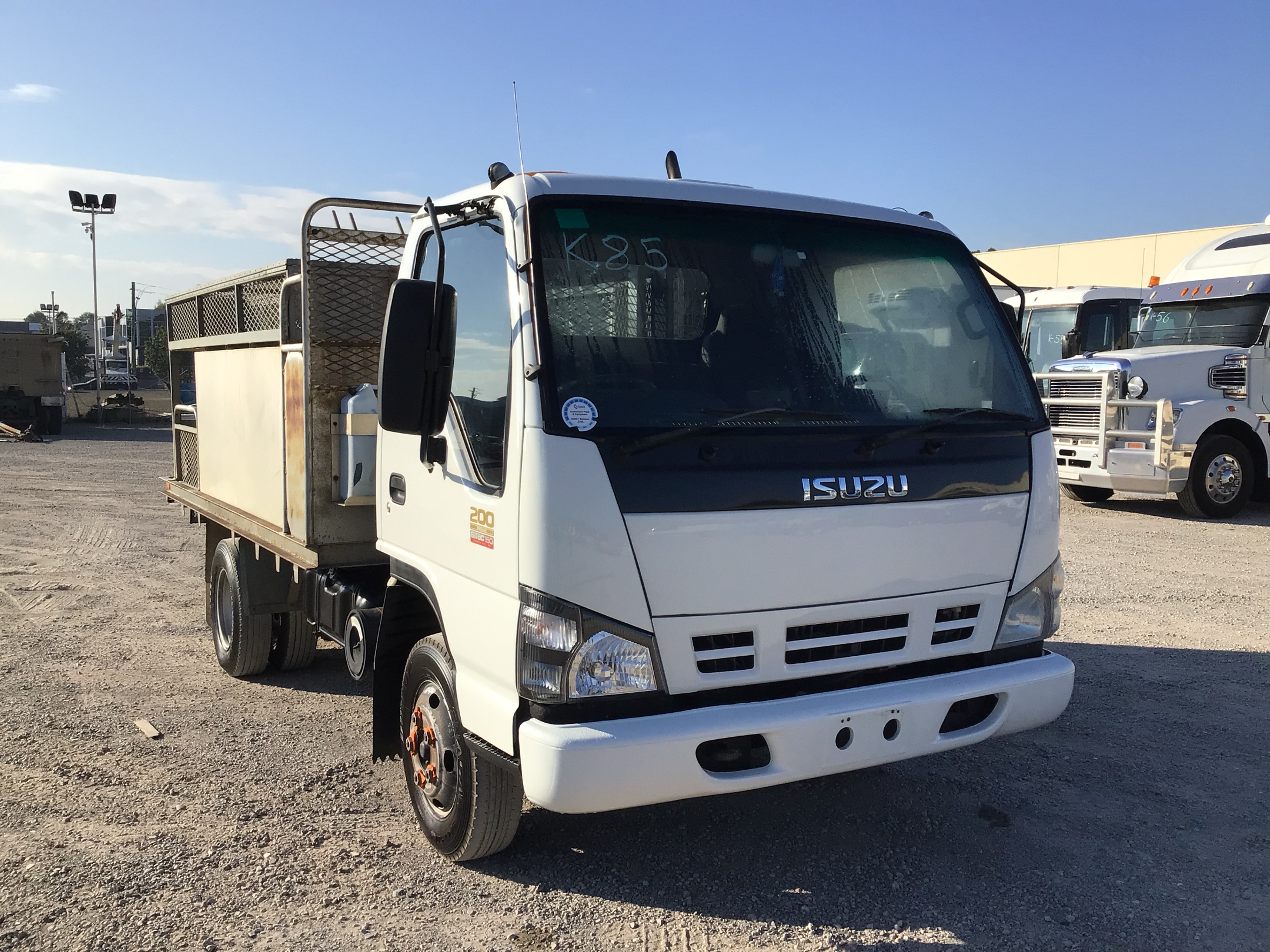 2007 Isuzu NPR 200 Medium Sitec 150 4 x 2 Service Truck