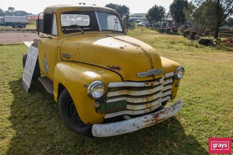 1949 Chevrolet Flat Bed Ute
