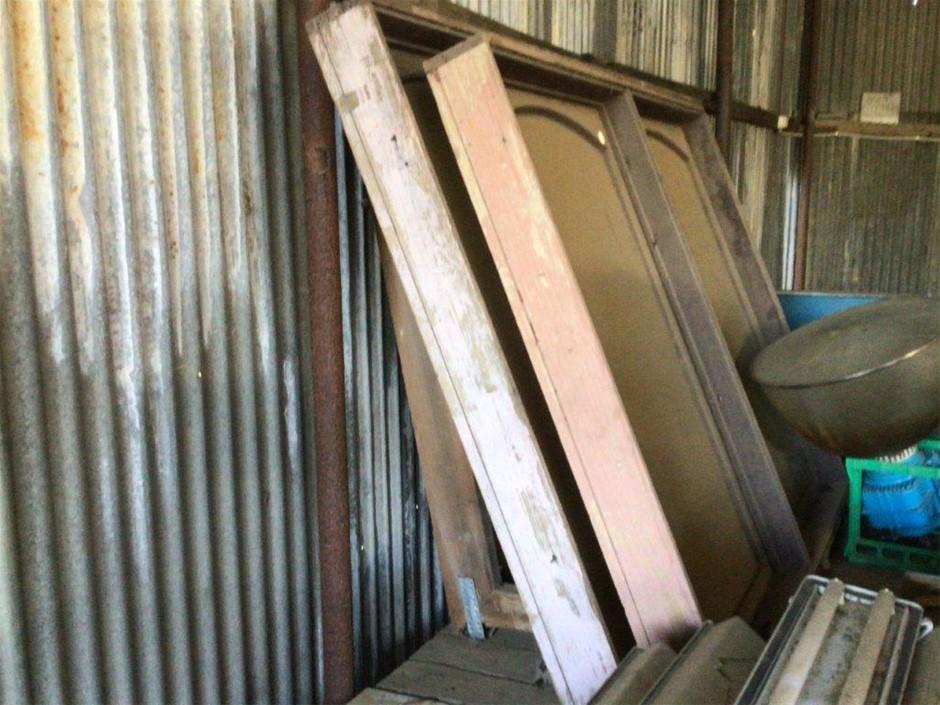 3 x Timber Frame Windows