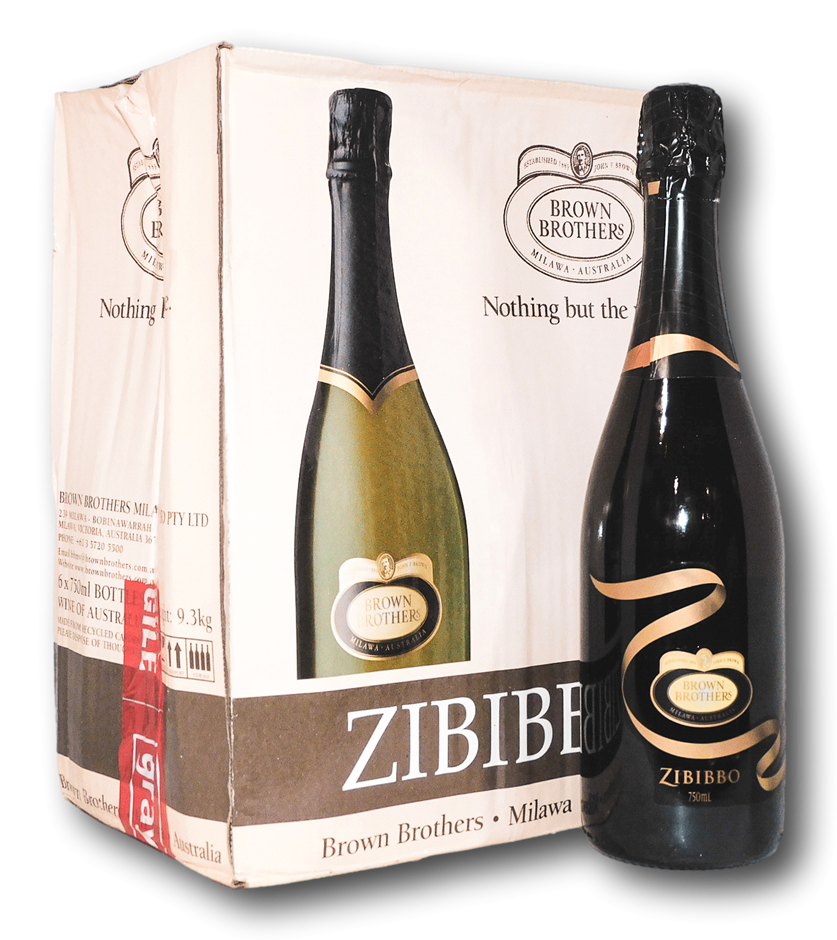Brown Brothers Zibibbo Light Sparkling Wine NV (6x 750mL)