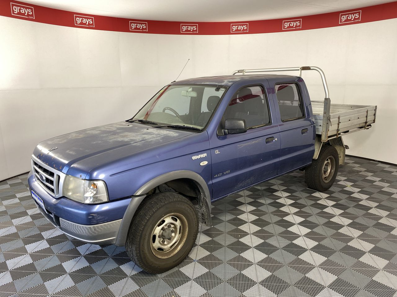 2005 Ford Courier GL PH Automatic Dual Cab