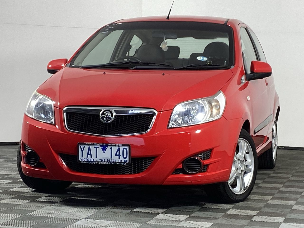 2010 Holden Barina TK Manual Hatchback