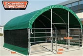 2021 Unused 6m x 6m Enclosed Shelters - Toowoomba