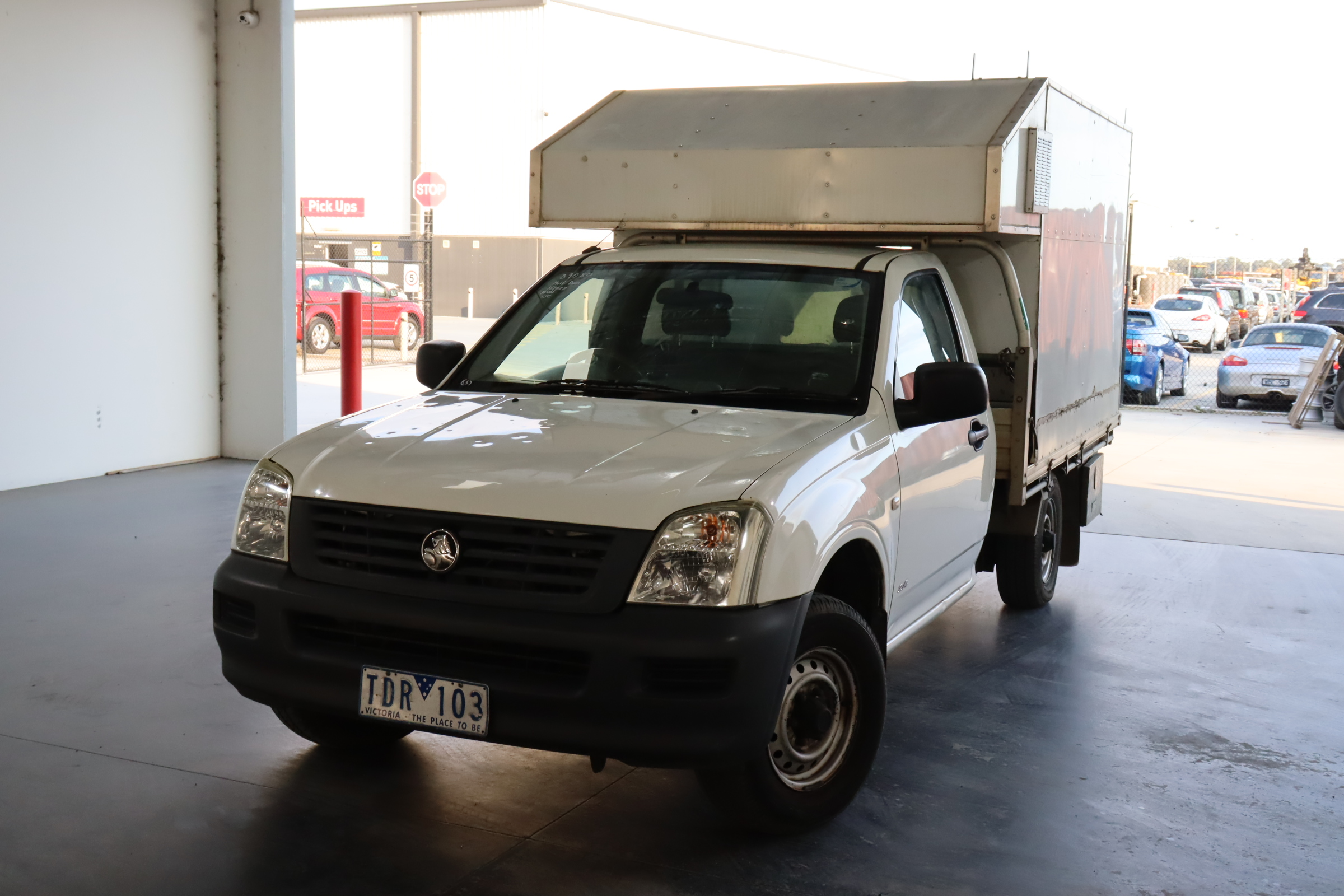 2004 Holden Rodeo Manual Ute