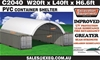 2021 Unused Heavy duty 40ft Container Shelter
