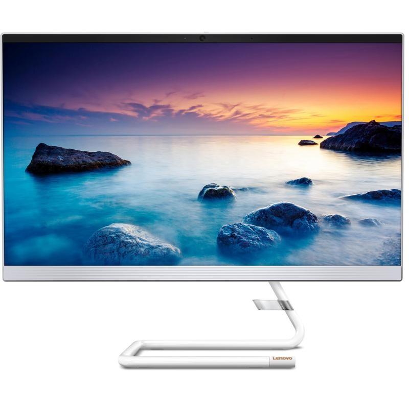 Lenovo IdeaCentre 24-005F 23.8-Inch All-In-One PC, White