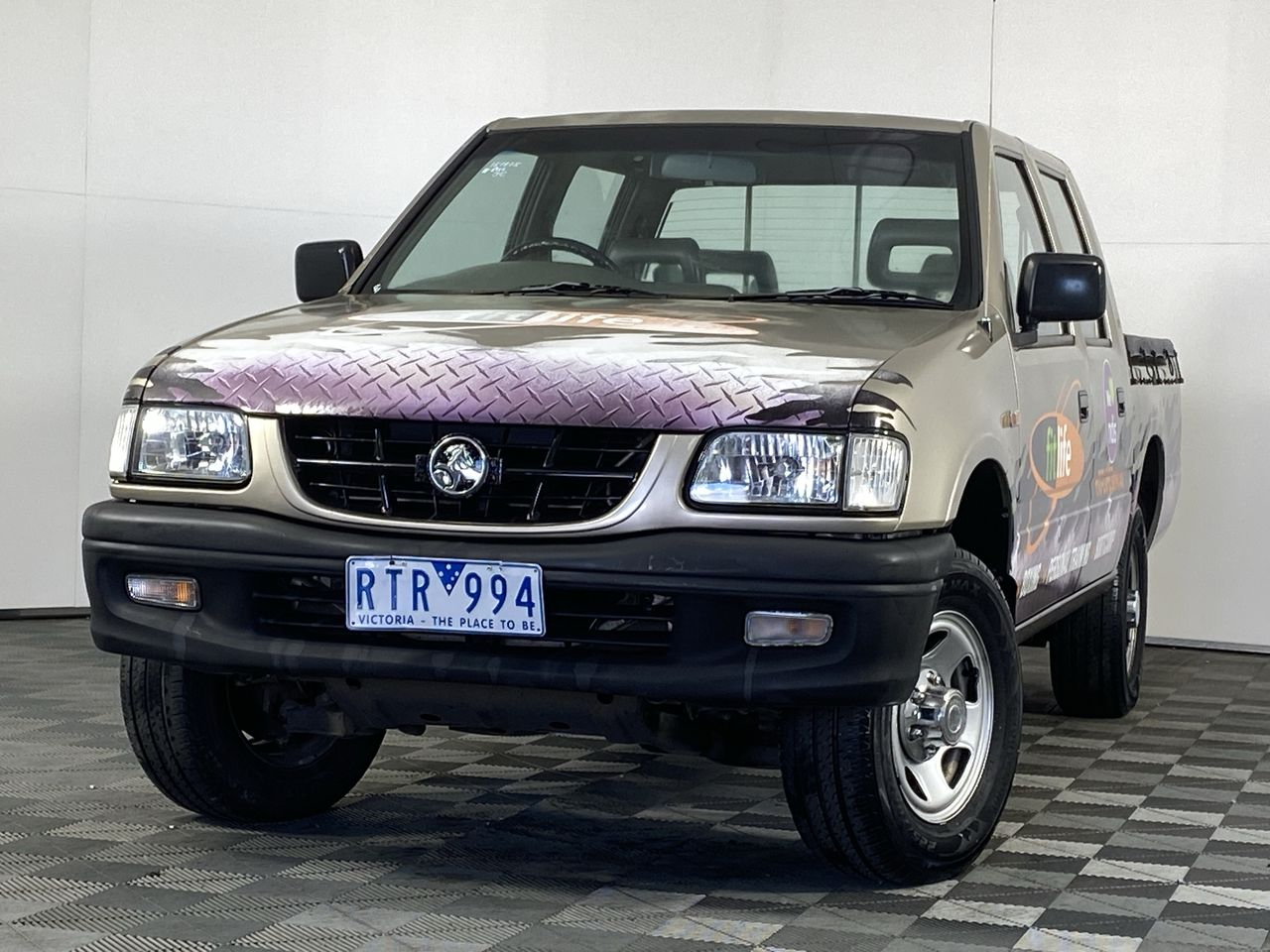 2002 Holden Rodeo LX R9 Manual Dual Cab