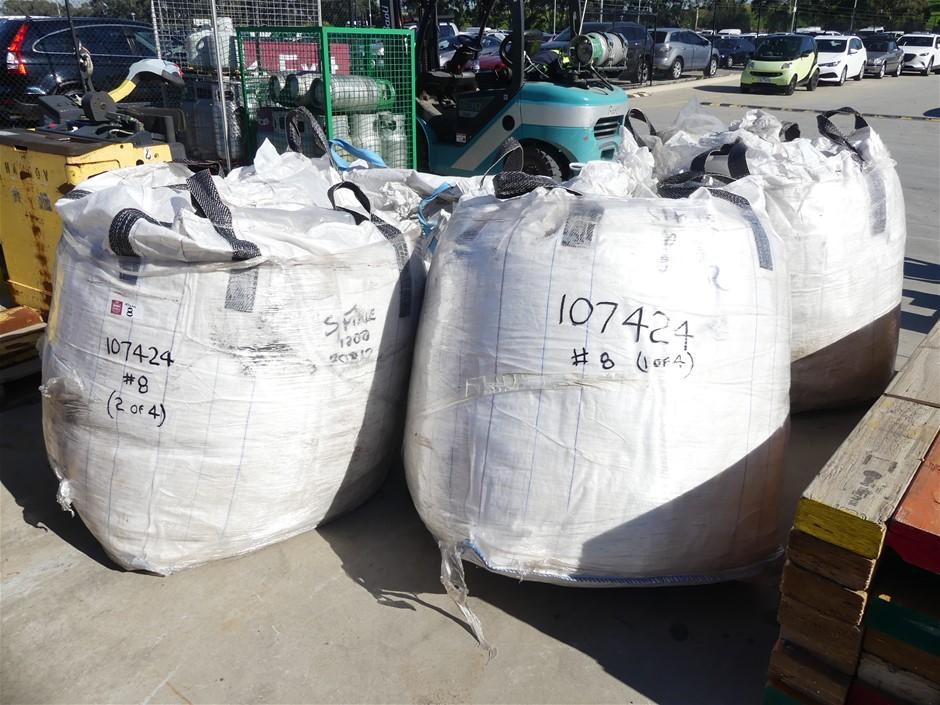 4x Bulka Bags Containing Superfine Perlite