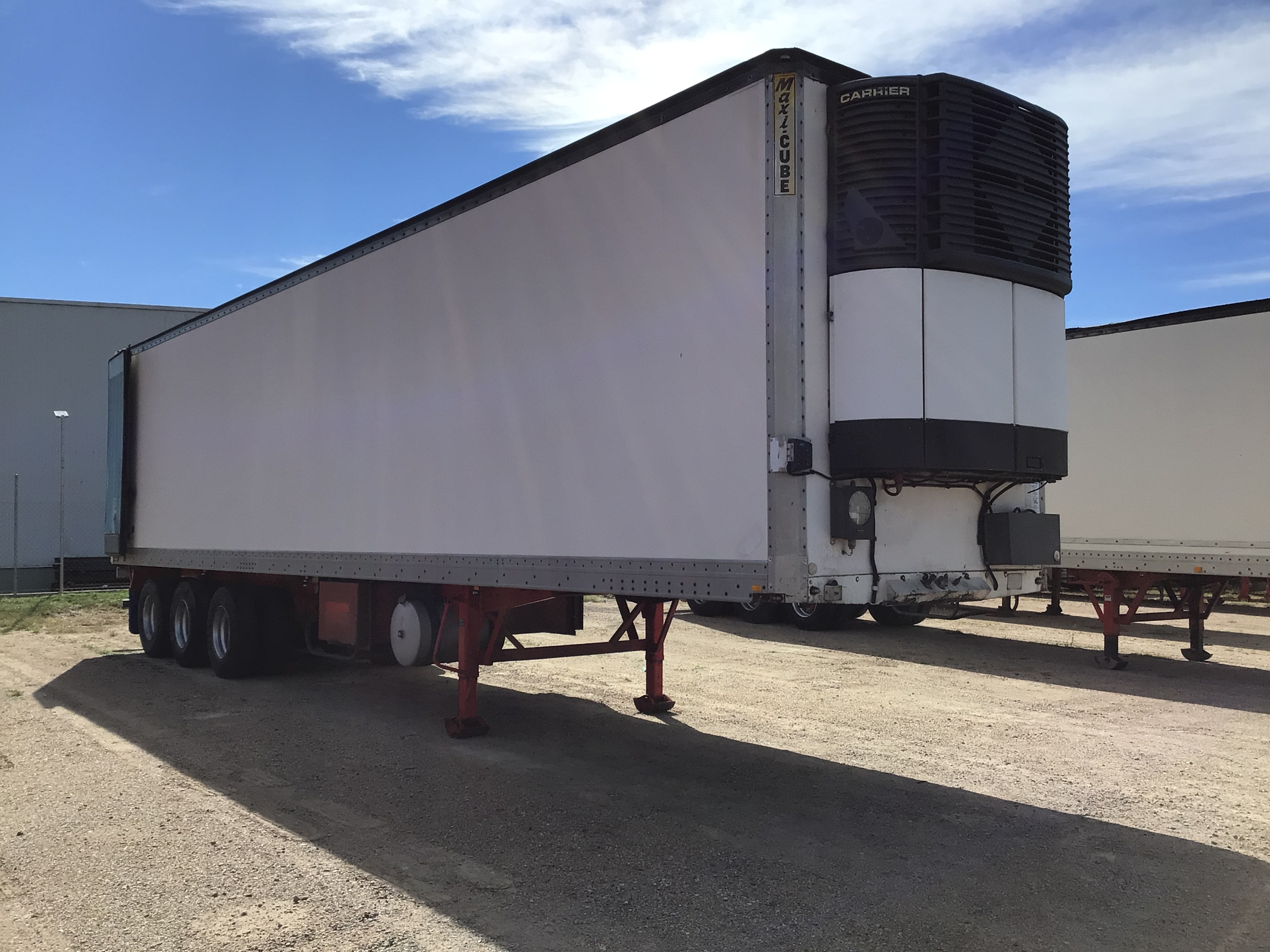 1996 Maxi-Cube Hi-Cube Reefer Triaxle Refrigerated Trailer