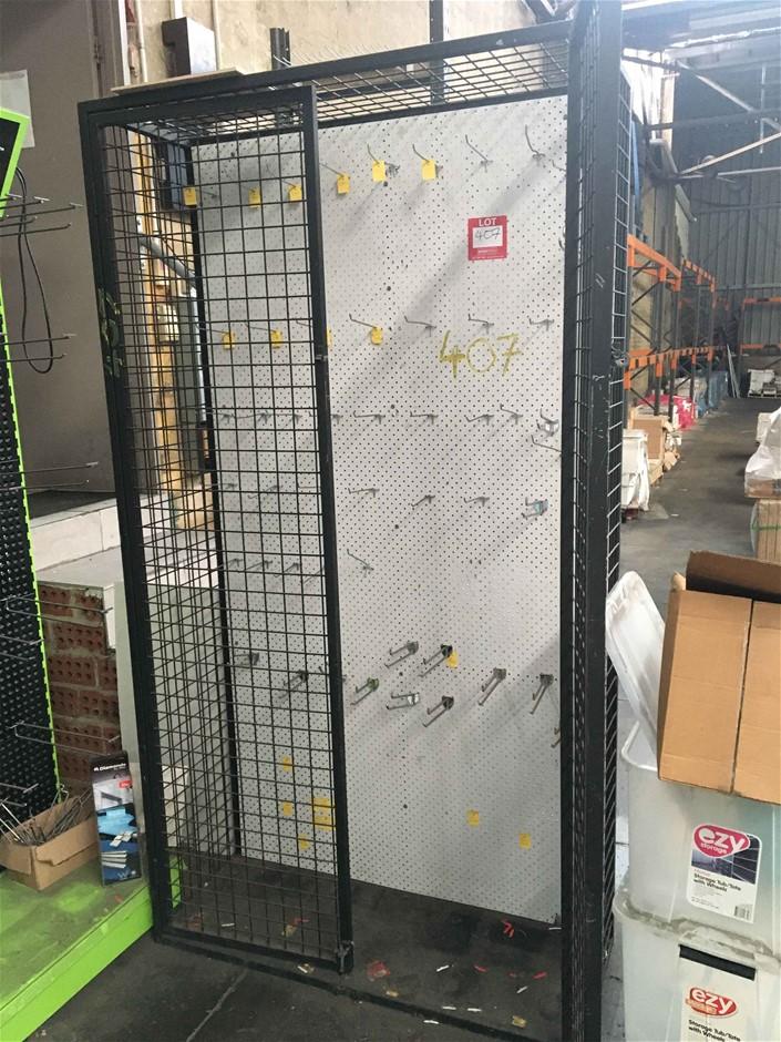 Lockable Display Cage / Unit
