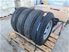 4x 225/75D15 Tyres on 6 Stud Rims