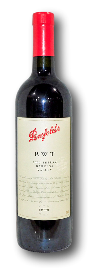 Penfolds RWT Shiraz 2002 (1x 750mL), Barossa
