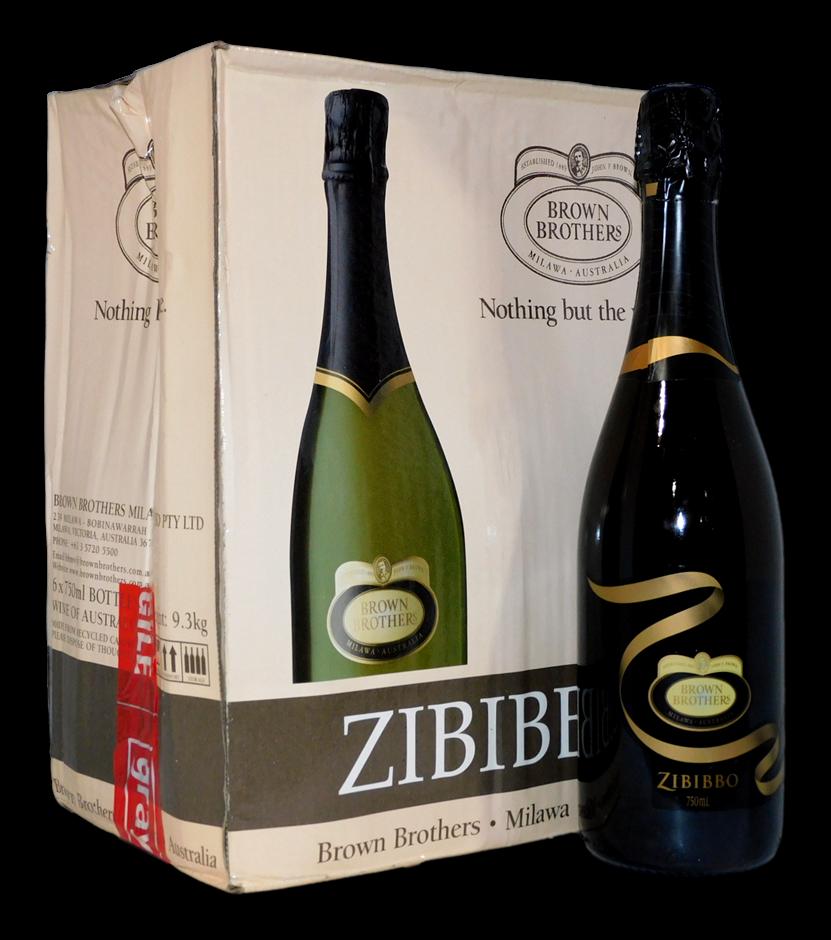 Brown Brothers Zibibbo Light Sparkling Wine NV (6 x 750mL), VIC