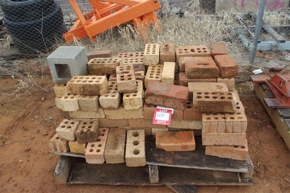 Part Pallet of Building Bricks