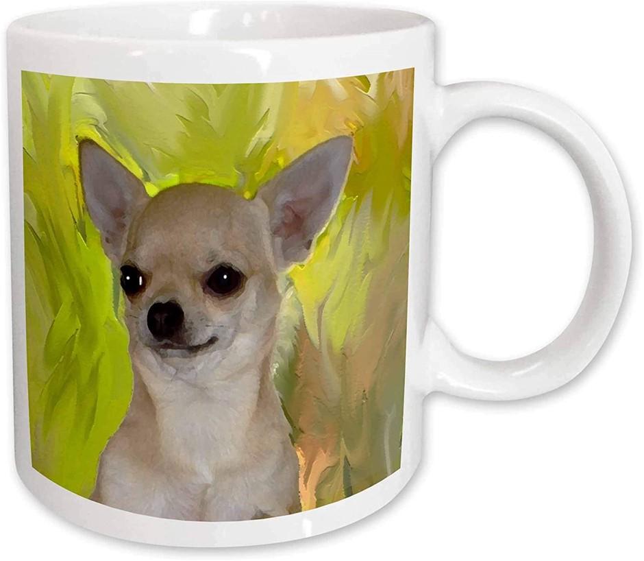 6 x Designed Ceramic Mugs, 312 Grams Each, Made in USA. (SN:B02Z3290) (2815