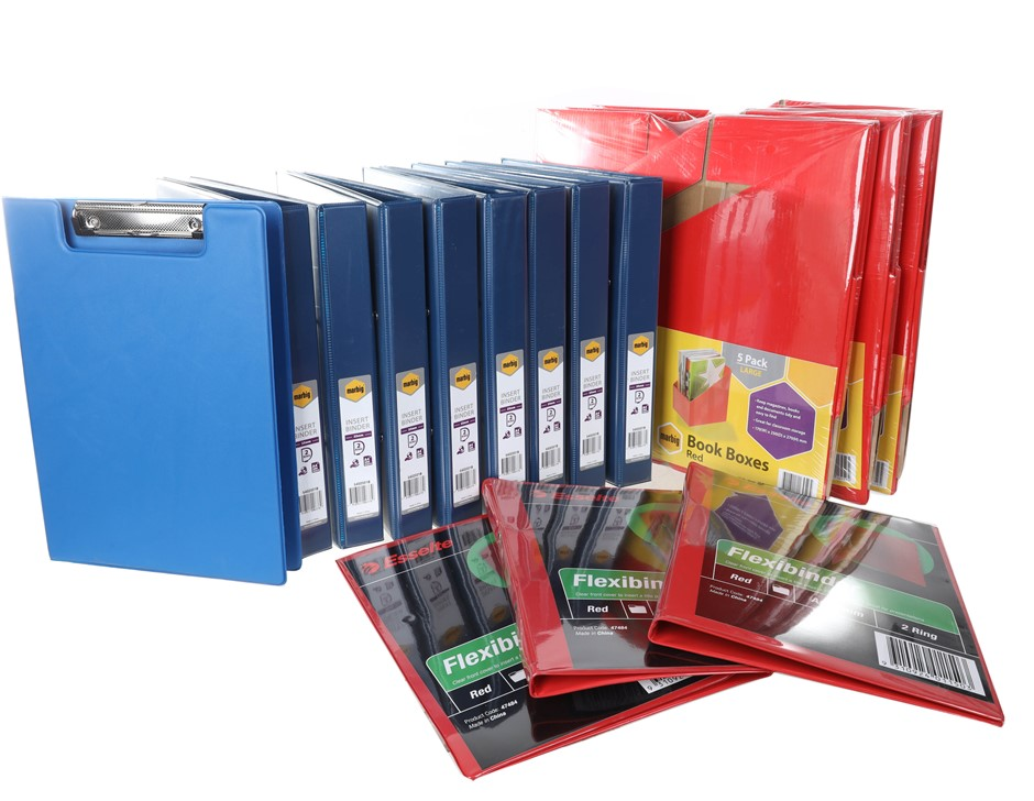 Large Box of Mixed Stationeries. (SN:B02Z3299) (281524-646)