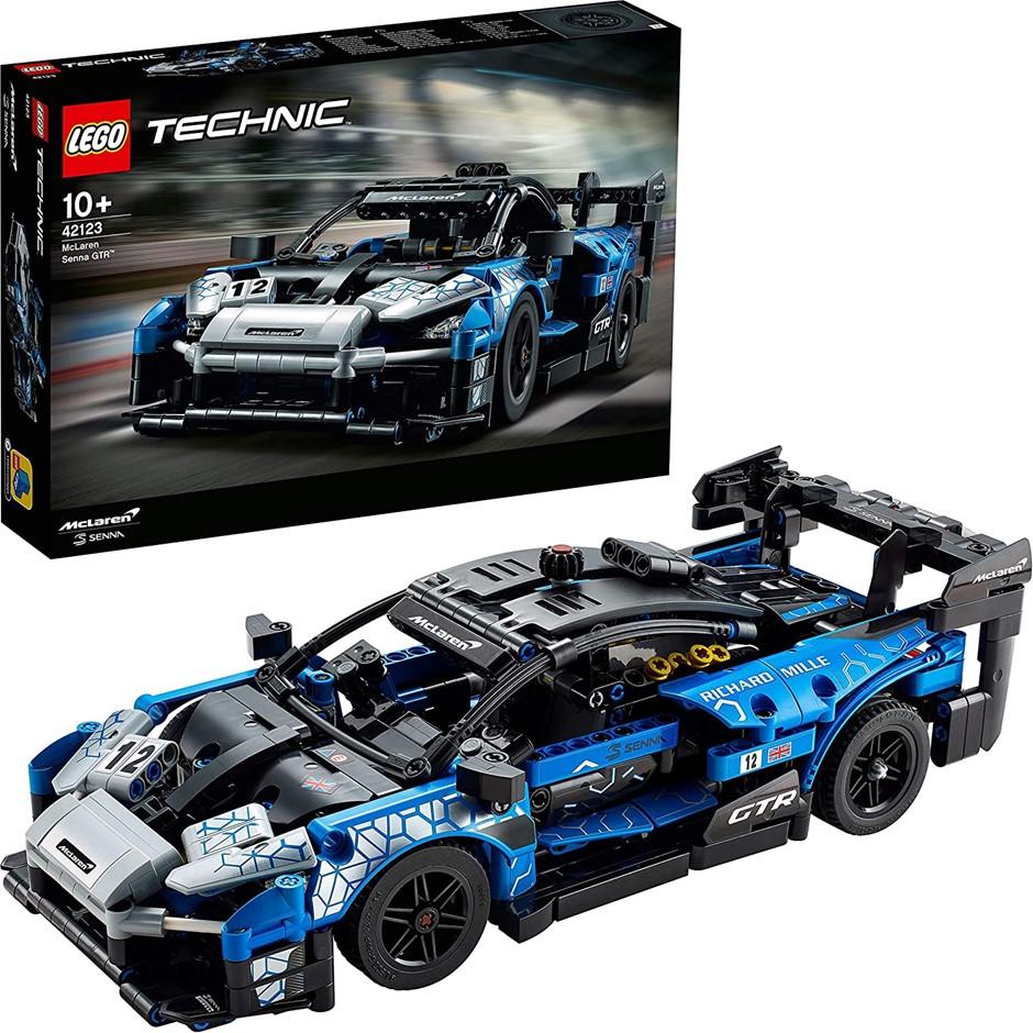 LEGO Technic McLaren Senna GTR Racing Sports Car Collectible Model. Buyers