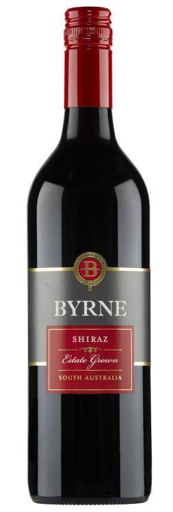 Byrne Estate Grown Shiraz 2019 (12 x 750mL) SA