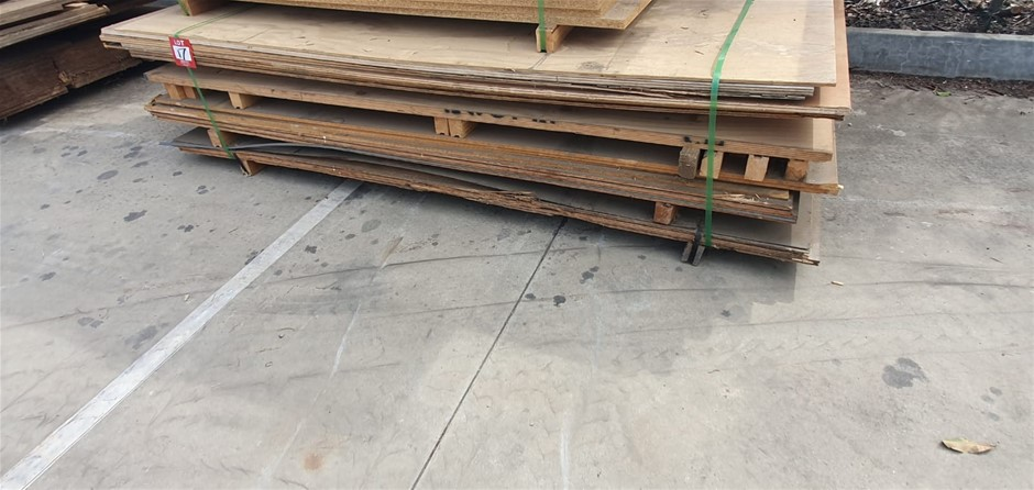 Particle board various 2.4mx1.2m
