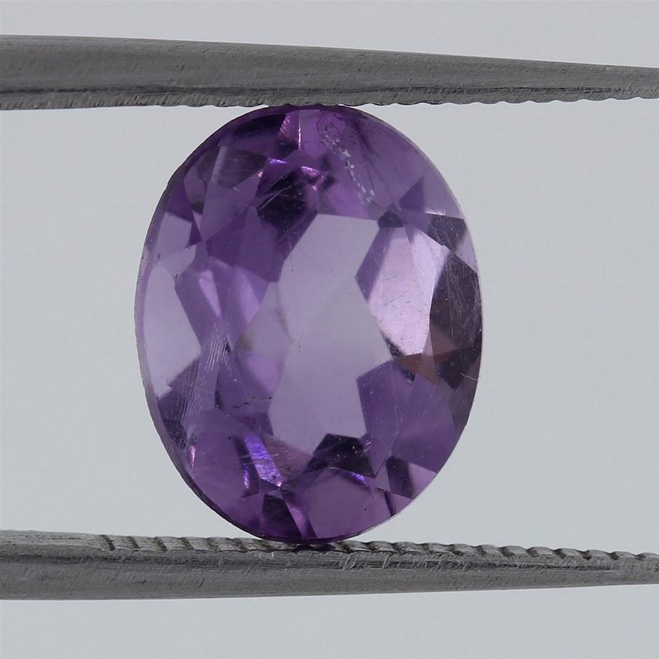 2.39ct AAA Vibrant Purple Amethyst