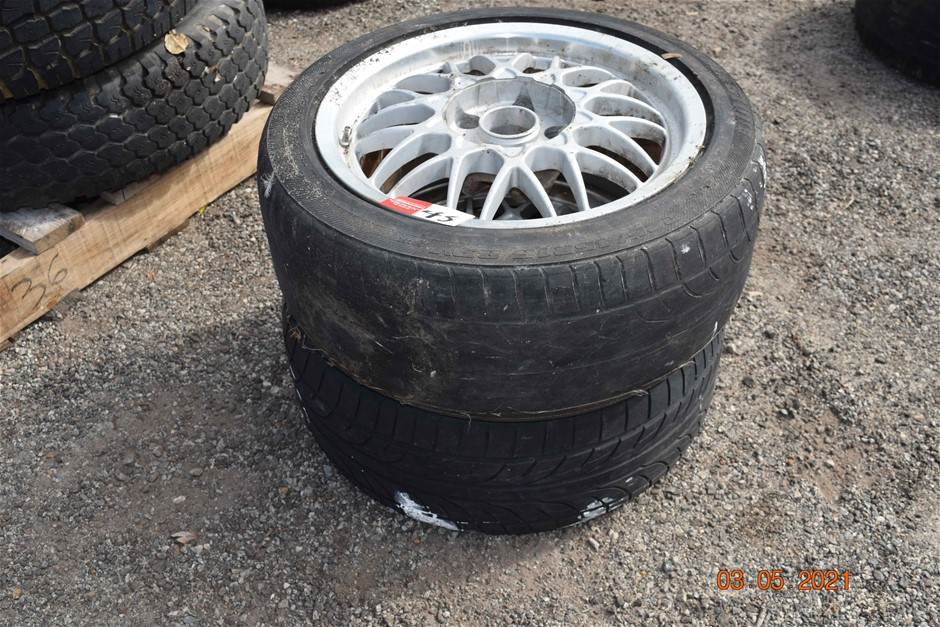 Lot of 2 Ford Tyres and Rims