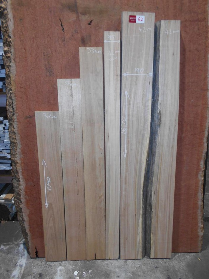 Assorted timber / furniture board pack (10 boards) - Australian Mountain As