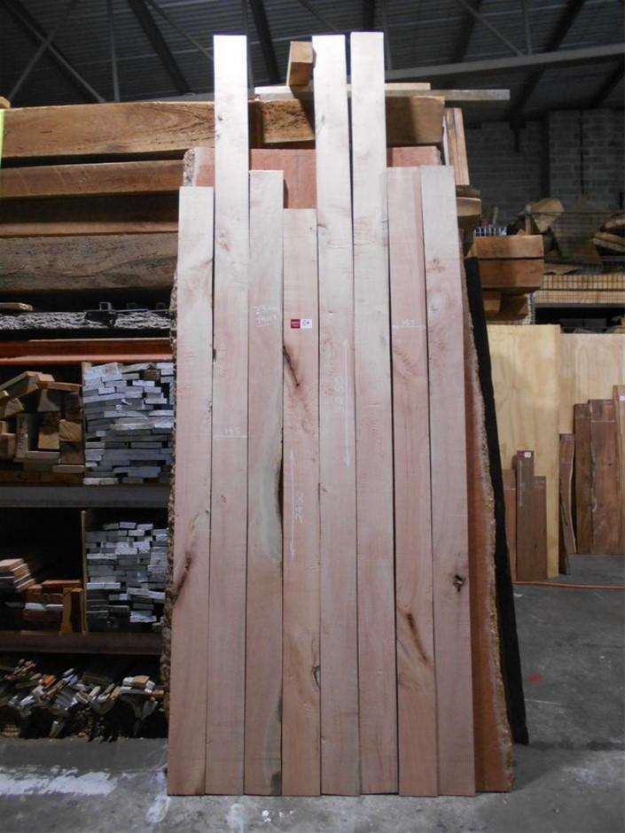 Assorted timber / furniture board pack (8 boards) - Australian Silky Oak