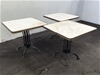 <p>3 x Cafe Tables</p>