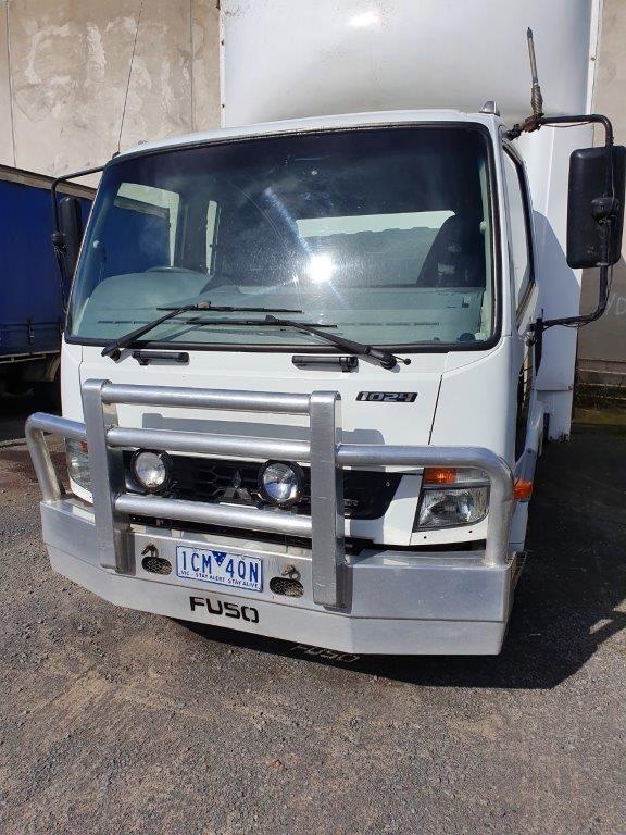 2014 Mitsubishi Fisher 1024 Curtainsider Rigid Truck