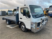 Unreserved 2006 Mitsubishi Fuso Canter 4 x 2 Car Carrier