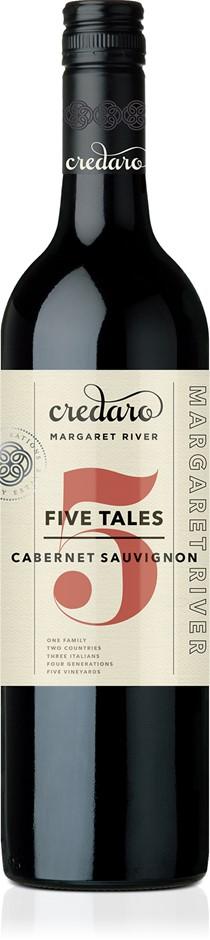 Credaro Five Tales Cabernet Sauvignon 2019 (12x 750mL).