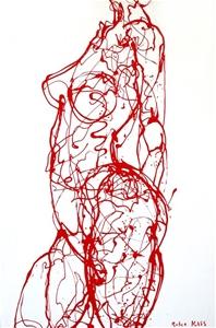 RUBEE KISS (AUS) - ORIGINAL Painting by