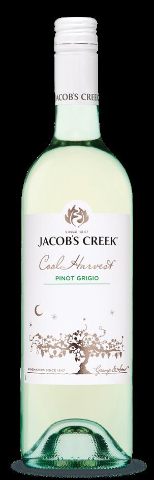 Jacobs Creek Cool Harvest Pinot Grigio 2019 (6 x750mL) SEA