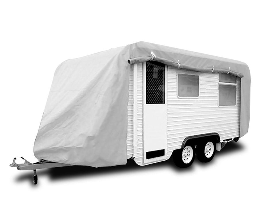 Caravan Cover with zip 23-26 ft