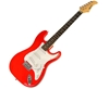 Karrera 39in Electric Guitar - Red