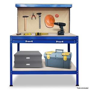 2-Layered Work Bench Garage Storage Tabl