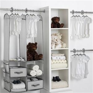 Delta Children 24 Piece Nursery Storage