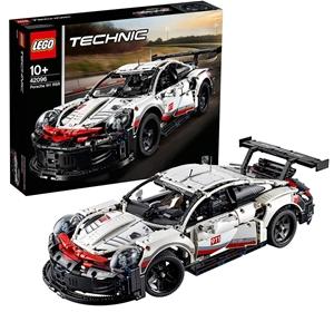 LEGO Technic Porsche 911 RSR 42096 Build