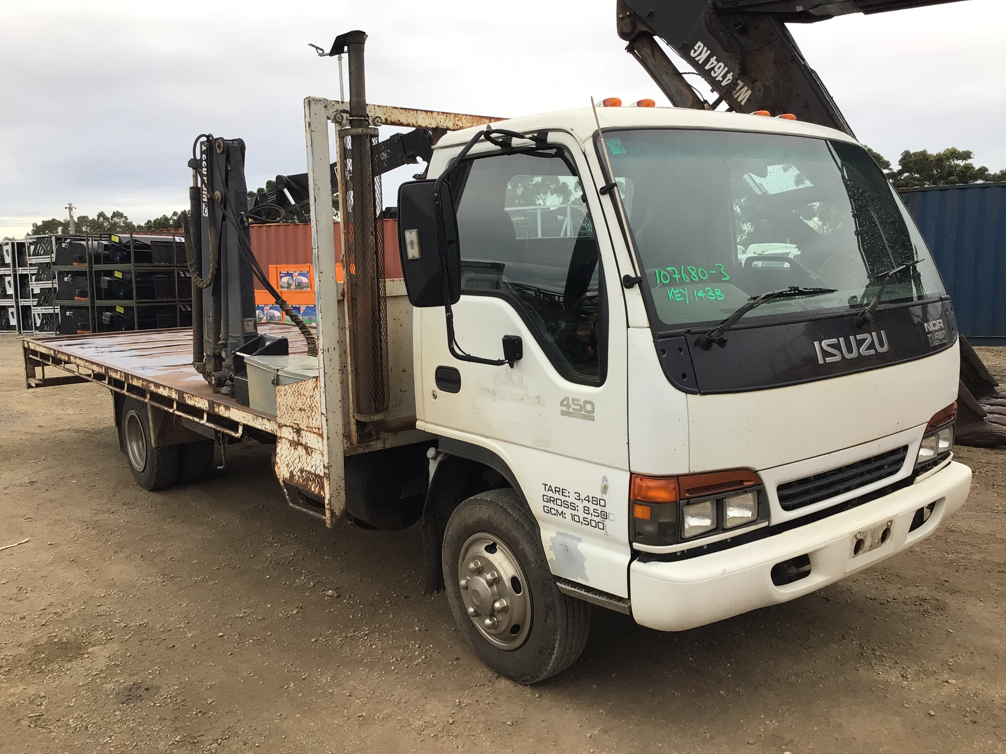 2000 Isuzu NQR 450 4 x 2 Tray Body Truck