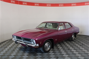 1973 Ford Falcon XB Factory Mulberry (Ma