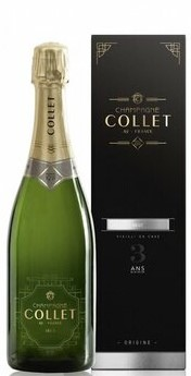 Collet Champagne Brut NV Gift Boxed (6 x 750mL), France.