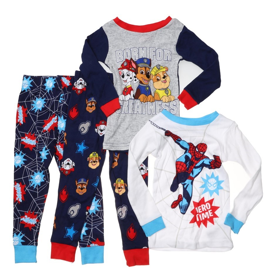 4 x Mixed Boys Clothing, Size 2T, Comprised: MARVEL & NICKELODEON, Multi. B