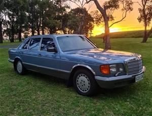 1985 Mercedes Benz 380SEL Saloon Automat