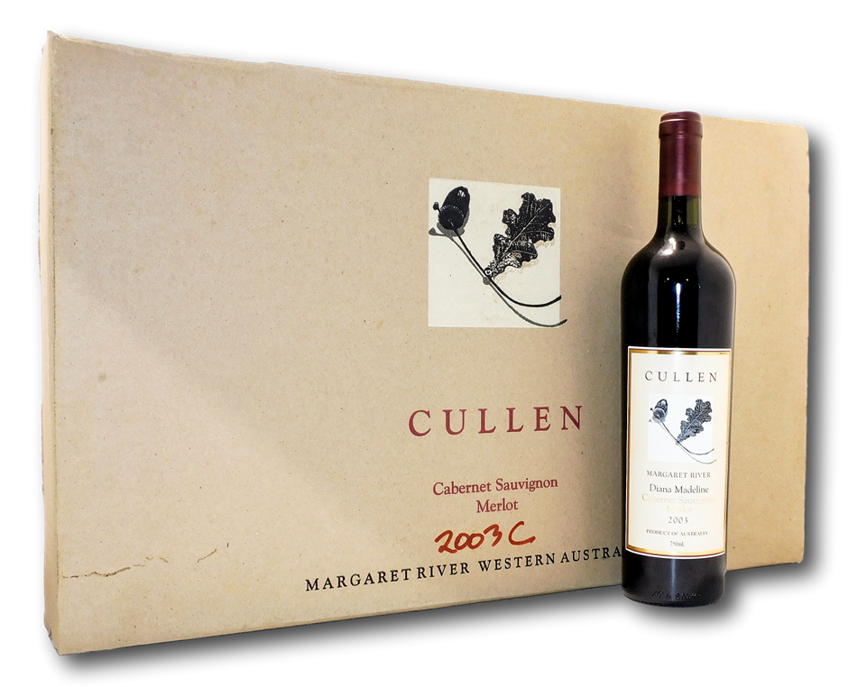 Cullen Diana Madeline Cabernet Merlot 2003 (6x 750mL), WA