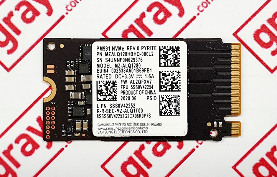 SAMSUNG PM991 128GB M.2 NVMe 2242 PCIe Solid State Drive