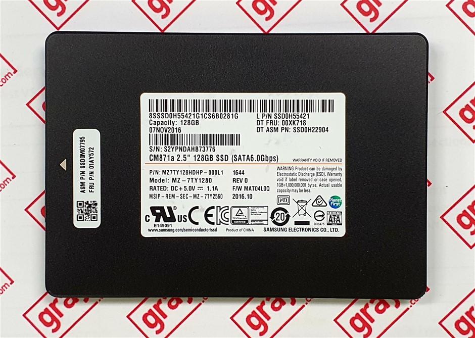 Samsung CM871a 128GB 2.5`` SATA Solid State Drive